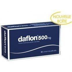 Daflon 500mg Jambes Lourdes x60 Comprimés Pelliculés