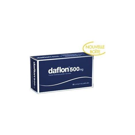 Daflon 500mg Jambes Lourdes x60 Comprimés Pelliculés pas cher, discount