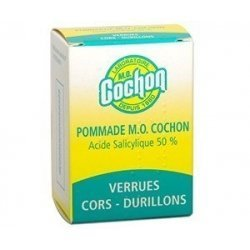 Pommade MO Cochon Verrues - Cors - Durillons 10 G pas cher, discount