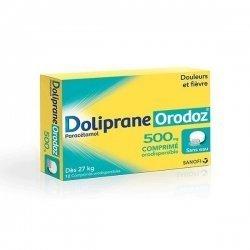 Doliprane Orodoz 500 mg Douleurs et Fièvre 12 Comprimés Orodispersibles pas cher, discount