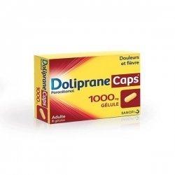 Doliprane Caps 1000 mg Douleurs et Fièvre 8 Gélules pas cher, discount