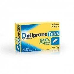 Doliprane Tabs 500 mg Douleurs et Fièvre 16 Comprimés pas cher, discount
