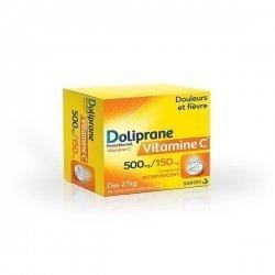 Doliprane Vitamine C 16 Comprimés Effervescents pas cher, discount