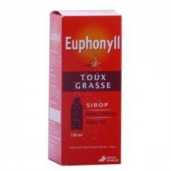 Euphonyll Expectorant Adultes Sirop 180 ml pas cher, discount