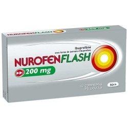 Nurofenflash 200 mg Douleurs et Fièvre Boite de 12 Comprimés pelliculés pas cher, discount