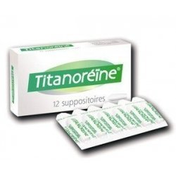 Titanoréïne 12 Suppositoires pas cher, discount