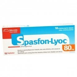 Spasfon-Lyoc 80 mg 10 Lyophilisat Oraux pas cher, discount