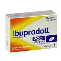 Ibupradoll 200 mg 24 capsules molles pas cher, discount