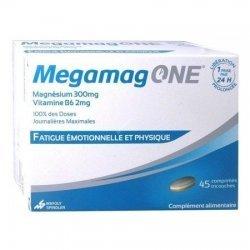 MegamagOne Fatigue émotionnelle et physique 45 comprimés pas cher, discount
