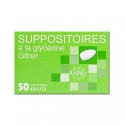 Gifrer Suppositoire Glycérine Adultes x 50