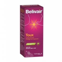 Belivair Toux Sirop 120ml pas cher, discount
