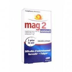 Mag2 Sommeil Magnésium Marin 30 Comprimés