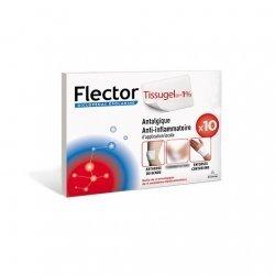Flector Tissugel Antalgique Anti-inflammatoire d'Application Locale 10 Emplâtres pas cher, discount