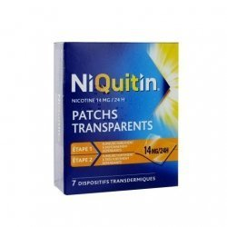 NiQuitin 14 mg/24h 7 Patchs pas cher, discount
