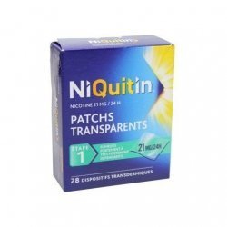 NiQuitin 21 mg/24h 28 Patchs pas cher, discount