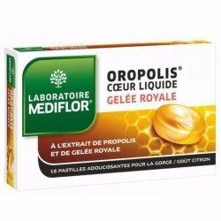 Mediflor Oropolis Adoucissant Gorge Gelée Royale Citron 16 Pastilles