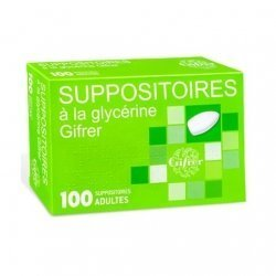 Gifrer Suppositoires Glycérine Adultes x100 pas cher, discount