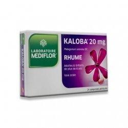 Médiflor Kaloba Rhume 21 comprimés pas cher, discount