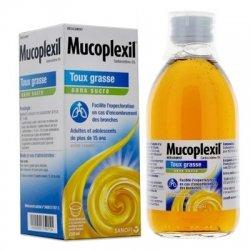 Mucoplexil Toux Grasse Sirop Sans Sucre Arôme Caramel 250ml pas cher, discount