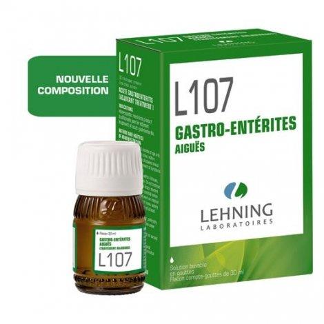 Lehning L107 Gastro-Entérites Aiguës Solution Buvable 30ml pas cher, discount