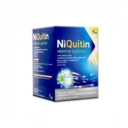 NiQuitin 2mg Menthe Glaciale Sans Sucre 100 Gommes pas cher, discount