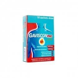 Gaviscon Pro 10 sachets Menthe Sans Sucre pas cher, discount
