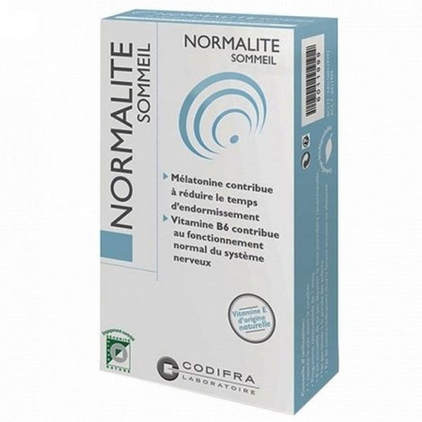 Codifra Normalite Sommeil 30 capsules pas cher, discount