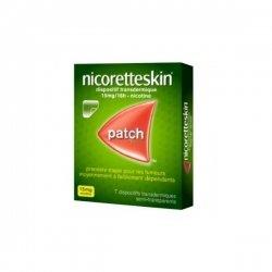 Nicorette Skin 7 Patchs 15 mg/16h pas cher, discount