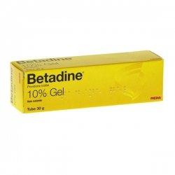 Betadine Dermique 10% gel Brûlures Superficielles 30 g