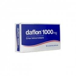 Daflon 1000mg Crise Hémorroïdaire 18 comprimés