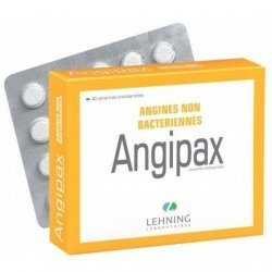 Lehning Angipax Maux De Gorge x40 Comprimés Orodispersibles pas cher, discount