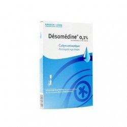 Bausch + Lomb Désomédine 0,1% Collyre Solution x10 Flacons pas cher, discount