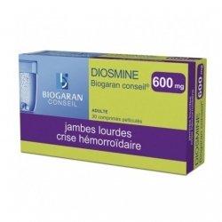 Biogaran Diosmine 600mg Veinotonique x30 Comprimés