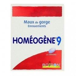 Boiron Homéogène 9 Maux De Gorge Enrouements x60 Comprimés pas cher, discount