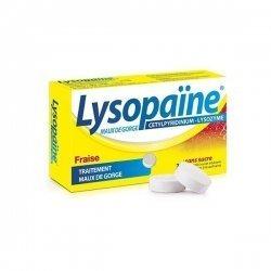 Lysopaïne Maux De Gorge Fraise x36 Comprimés pas cher, discount