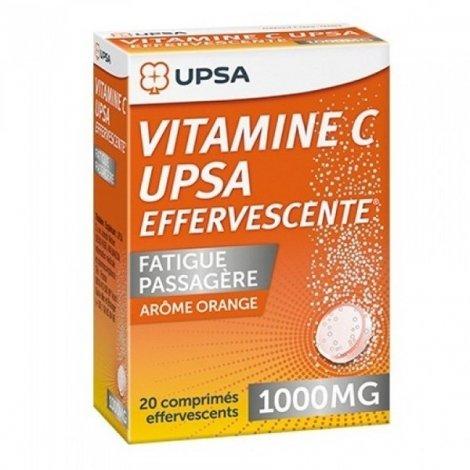 UPSA Vitamine C 1000mg Fatigue Passagère Orange x20 Comprimés pas cher, discount