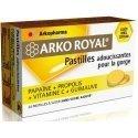 Arkoroyal pastilles propolis papaïne miel-citron tube 2x10