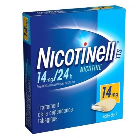 Nicotinell 14 mg/24h 7 Patchs pas cher, discount