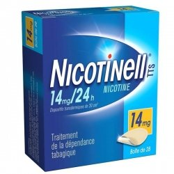 Nicotinell 14 mg/24h 28 Patchs pas cher, discount