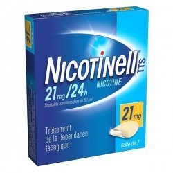 Nicotinell 21 mg/24h 7 Patchs pas cher, discount