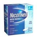 Nicotinell 2 mg Menthe Fraîcheur 204 Gommes à mâcher