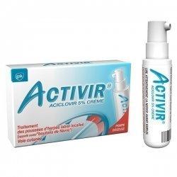 Activir Aciclovir 5% Crème Herpès Labial 2g pas cher, discount