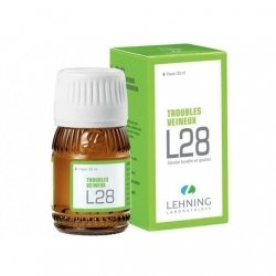 Lehning L28 Troubles Veineux Solution Buvable 30ml pas cher, discount