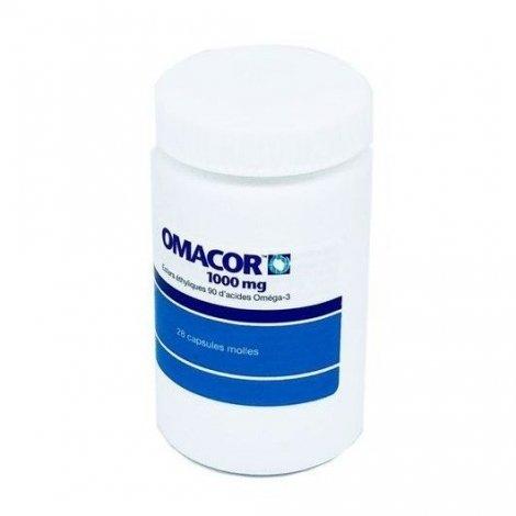 Omacor Réduction Cholestérol x28 Capsules Molles pas cher, discount