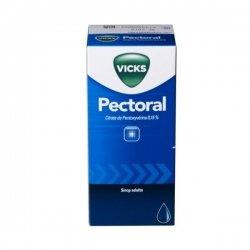 Vicks Sirop Pectoral 0.15 % Toux Sèche et Irritée 150 ml pas cher, discount