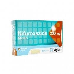 Mylan Nifuroxazide 200mg Diarrhées Aiguës x12 Gélules pas cher, discount