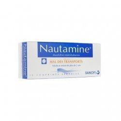 Sanofi Nautamine Mal Des Transports x20 Comprimés Sécables