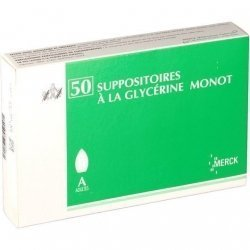 Merck Suppositoires A La Glycérine Monot Adultes x50