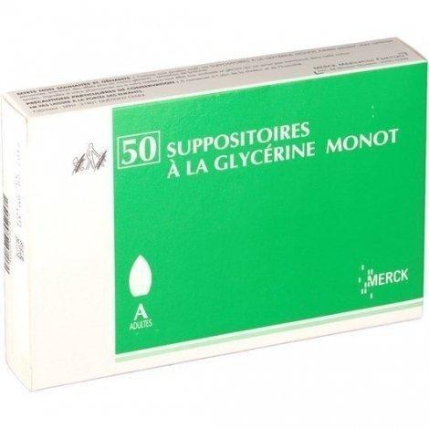 Merck Suppositoires A La Glycérine Monot Adultes x50 pas cher, discount