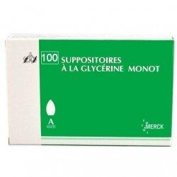 Merck Suppositoires A La Glycérine Monot Adultes x100